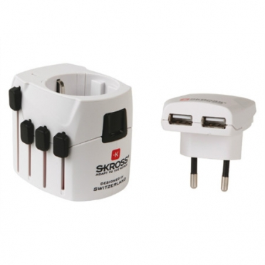 SKROSS world travel adapter Pro USB